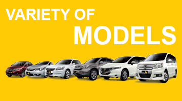 Our Range of Vehicles